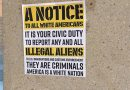 College 'Diversity Council' Posts FAKE Racist Flyers