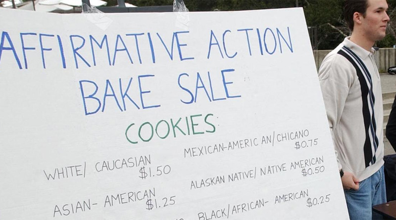 affirmative Action Bake Sale