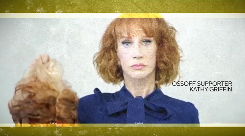 Kathy Griffin and Ossoff