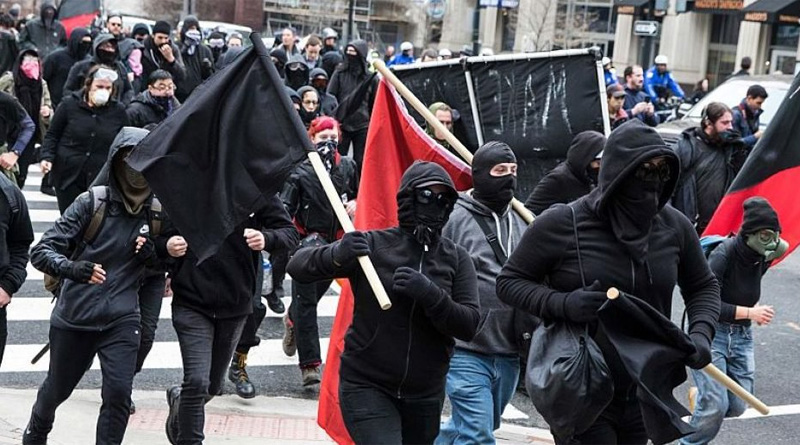 'Unmasking Antifa Act' Includes 15-year Prison Term Proposal
