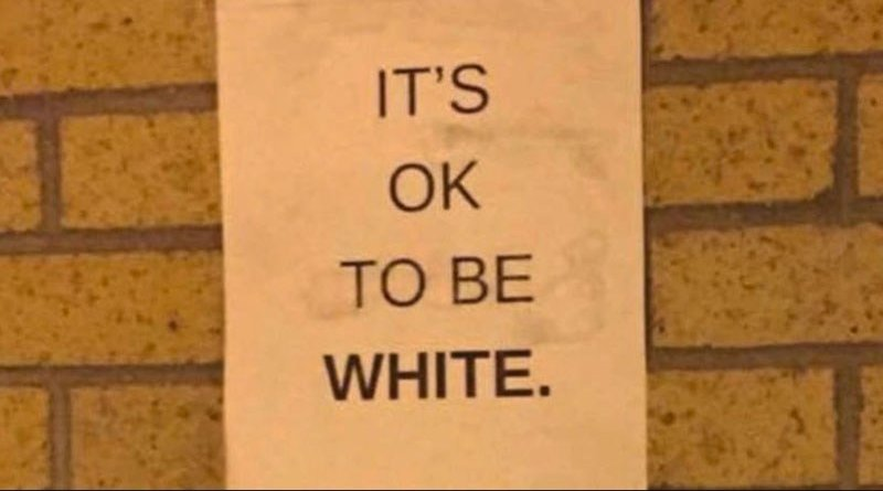 Its OK To Be White