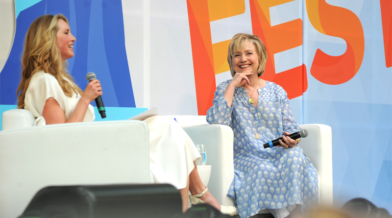 What is She Wearing? Hillary Clinton Looks Like Hell at OzyFest