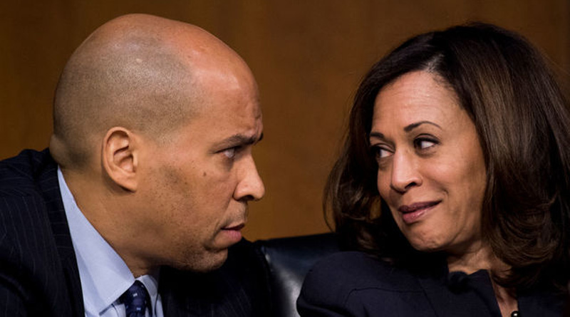 Kamala and Booker
