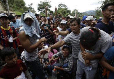 Rep. Gaetz Sounds the Alarm After Footage Surfaces of Women & Children Given Cash to Join Honduran Caravan
