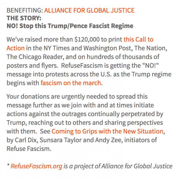 Soros and Alliance for Global Justice