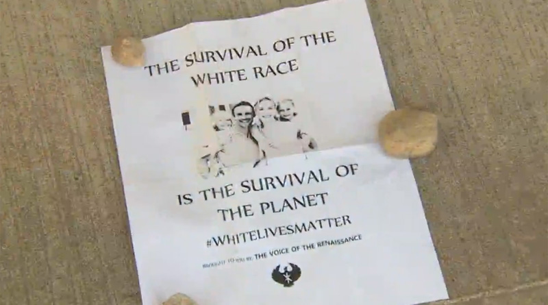 White Live Matter Flier