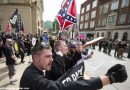 Hardly peaceful, But No Violence as White Nationalists, Protesters Yell in Pikeville