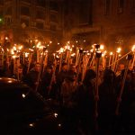 Ukrainian Nationalists March in Kiev to Mark Anniversary