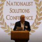 Earl Holt Addresses The Nationalist Solutions 2019 Conference