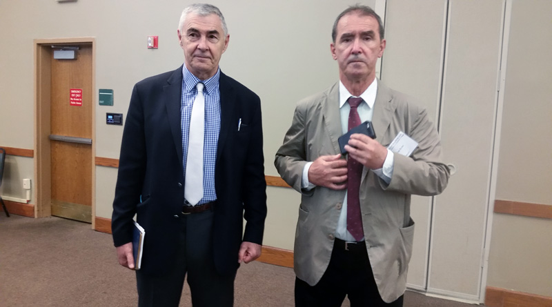 General Nicholas Glasnovich & Tom Sunic