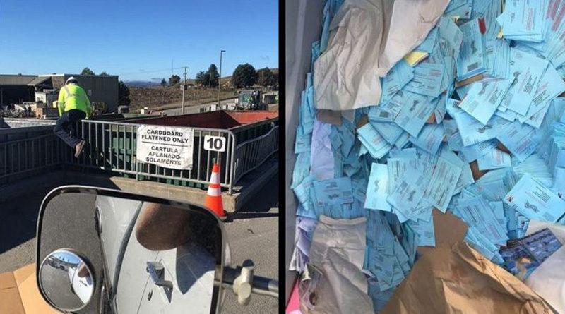 Ballot Dumpster