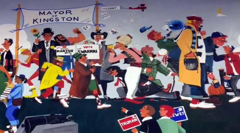 Rhode Island U Mural