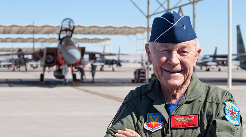 Chuck Yeager, R.I.P.