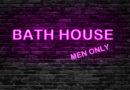 Bath House Politics Sign